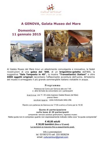Museo del mare locandina