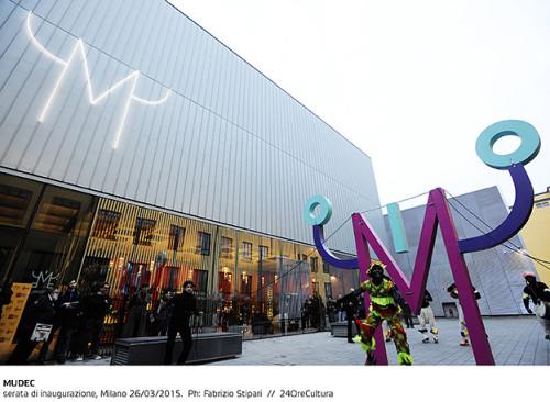 MUDEC serata di inaugurazione, Milano 26/03/2015.  Ph: Fabrizio Stipari  //  24OreCultura